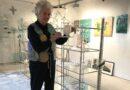 Glaskünstlerin öffnet ihre Werkstatt