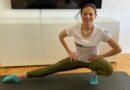 Lisa-Marie Löhr hält sich mit Workouts fit