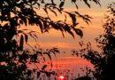 Sonnenuntergang in Gruiten